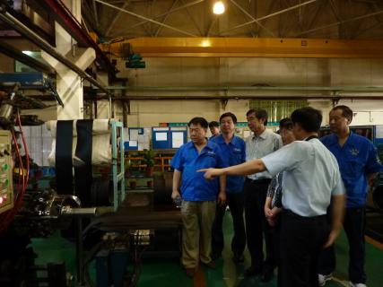 中国橡胶工业协会,考察天津市万达轮胎
